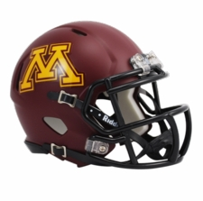 Minnesota Golden Gophers Riddell Speed Mini Helmet