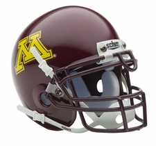 Minnesota Golden Gophers Schutt Authentic Mini Helmet