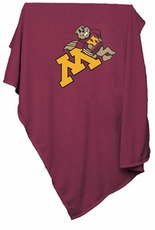 Minnesota Golden Gophers Sweatshirt Blanket