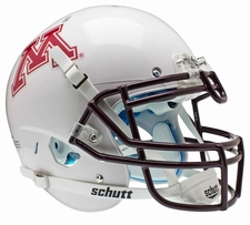 Minnesota Golden Gophers White Schutt XP Authentic Helmet