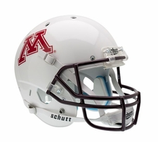 Minnesota Golden Gophers White Schutt XP Full Size Replica Helmet