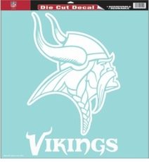 Minnesota Vikings 18 x 18 Die-Cut Decal