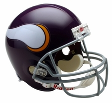 Minnesota Vikings 1961-79 Throwback Riddell Deluxe Replica Helmet