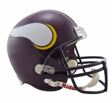 Minnesota Vikings 1983-2005 Throwback Riddell Deluxe Replica Helmet