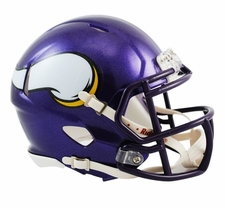 Minnesota Vikings 2006-12 Speed Mini Helmet