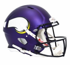 Minnesota Vikings 2013 Revolution Speed Riddell Authentic Helmet