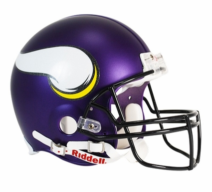 Minnesota Vikings 2013 Riddell Full Size Authentic Helmet