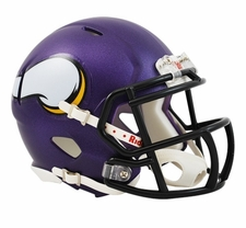 Minnesota Vikings 2013 Speed Mini Helmet