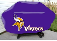 Minnesota Vikings Deluxe Barbeque Grill Cover