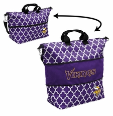 Minnesota Vikings  - Expandable Tote (patterned)