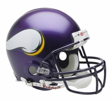 Minnesota Vikings 2006-12 Riddell Full Size Authentic Helmet