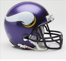 Minnesota Vikings 2006-12 Riddell Replica Mini Helmet