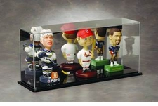 Mirrored Multiple Bobble Head Display Case