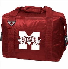 Mississippi State Bulldogs 12 Pack Small Cooler