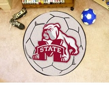 "Mississippi State Bulldogs 27"" Soccer Ball Floor Mat"