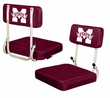 Mississippi State Bulldogs Hard Back Stadium Seat