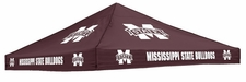 Mississippi State Bulldogs Maroon Logo Tent Replacement Canopy