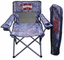 Mississippi State Bulldogs Realtree Camo Mesh Chair