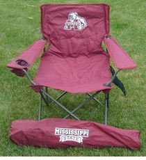 Mississippi State Bulldogs Rivalry Adult Chair