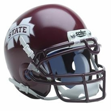 Mississippi State Bulldogs Schutt Authentic Full Size Helmet