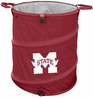 Mississippi State Bulldogs Tailgate Trash Can / Cooler / Laundry Hamper