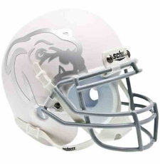 Mississippi State Bulldogs White Schutt Authentic Mini Helmet