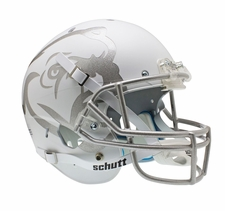 Mississippi State Bulldogs White Schutt XP Full Size Replica Helmet
