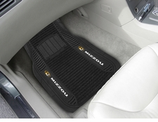 Missouri Tigers 2-Piece Deluxe Car Mats