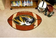 "Missouri Tigers 22""x35"" Football Floor Mat"