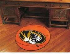 "Missouri Tigers 27"" Basketball Floor Mat"