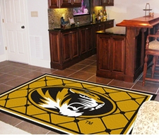 Missouri Tigers 5'x8' Floor Rug