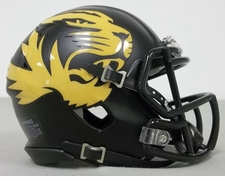 Missouri Tigers Alternate Riddell Speed Mini Helmet