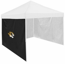 Missouri Tigers Black Side Panel for Logo Tents