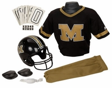 Missouri Tigers Deluxe Youth / Kids Football Helmet Uniform Set