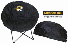 Missouri Tigers Round Sphere Chair