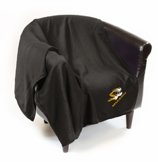 Missouri Tigers Sweatshirt Throw Blanket