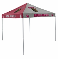 Montana Grizzlies Maroon / Gray Logo Canopy Tailgate Tent