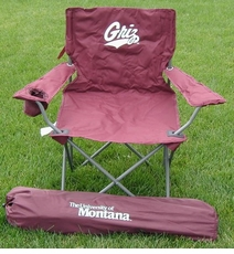Montana Grizzlies Rivalry Adult Chair