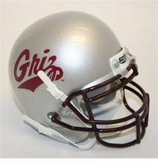 Montana Grizzlies Schutt Authentic Mini Helmet