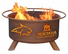 Montana State Bobcats Outdoor Fire Pit