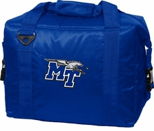 MTSU Blue Raiders 12 Pack Small Cooler