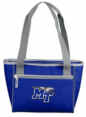 MTSU Blue Raiders 16 Can Cooler Tote