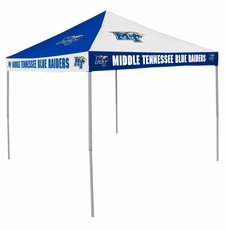 MTSU Blue Raiders Royal / White Checkerboard Logo Canopy Tailgate Tent