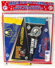 National League Mini Pennant Set