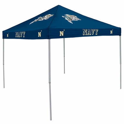 Navy Midshipmen (Naval Academy) Navy Logo Canopy Tailgate Tent  sc 1 st  Bowl Bound : tailgating tents - memphite.com