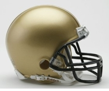 Navy Midshipmen Riddell Replica Mini Helmet