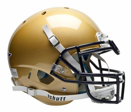 Navy Midshipmen Schutt XP Authentic Helmet