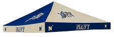 Navy (Naval Academy) Midshipmen Checkerboard Logo Tent Replacement Canopy