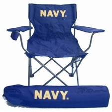 Navy (Naval Academy) Midshipmen Rivalry Adult Chair
