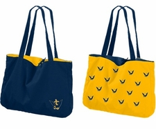 Navy (Naval Academy) Midshipmen Stacked Eagle Reversible Tote Bag